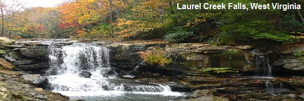 Laurel Creek Falls West Va